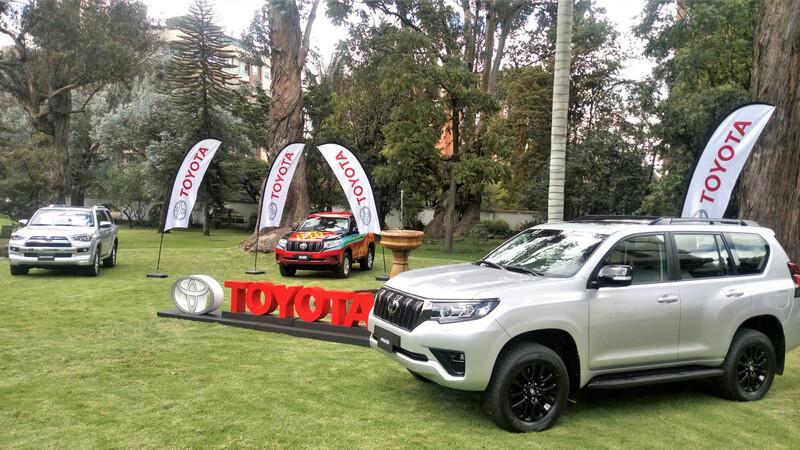 Novedades para Toyota Land Cruiser Prado y 4Runner