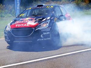 Loeb listo para el cierre del Mundial de Rallycross en Rosario