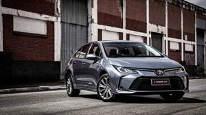 Toyota lanza en Brasil la nueva generación del Corolla sedán