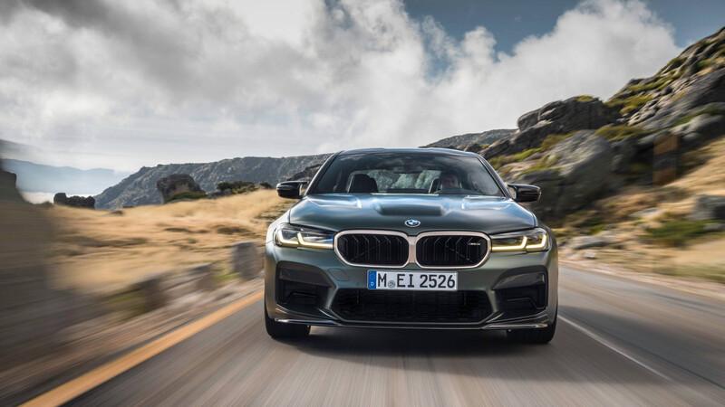 BMW M5 CS, bestial por donde se mire