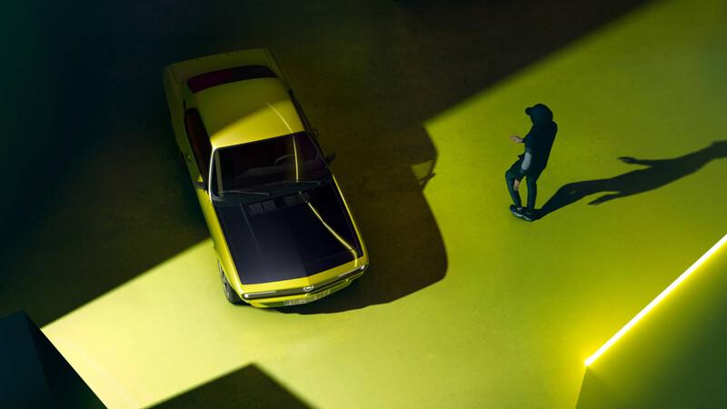 El mítico Opel Manta regresará como auto eléctrico