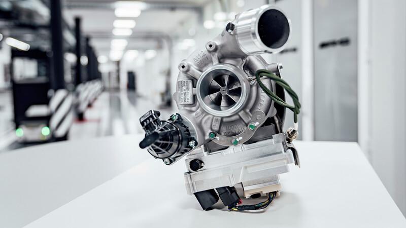 Turbo eléctrico para los futuros Mercedes-AMG
