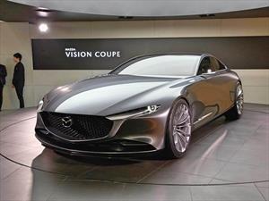 Tokio 2017: el futuro se llama Mazda VISION COUPE