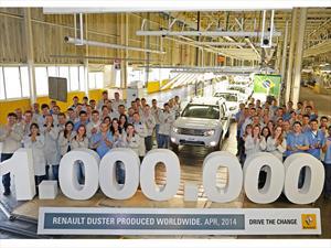 La Duster alcanzó el millón de unidades
