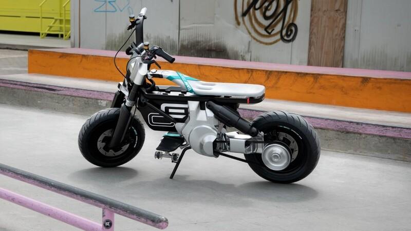 BMW CE 02 Concept: urbana de tomo y lomo