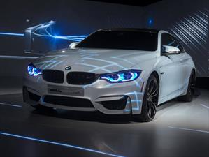 BMW M4 Concept Iconic Lights exhibe nuevas tecnologías de iluminación