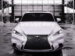 El Lexus IS 350 ya no se esconde, primeras fotos
