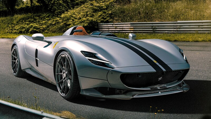 Novitec mejoró la ya imponente Ferrari Monza SP1