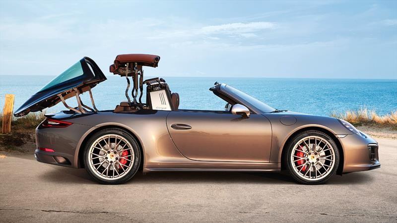 ¿De dónde a Porsche se le ocurrió el nombre Targa?