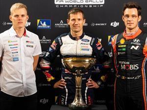 WCR 2019: Se define el campeonato en Australia y son tres contendientes