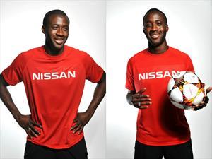 Yaya Touré se une al equipo Nissan como embajador global