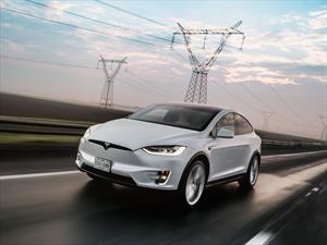 Tesla Model X a prueba