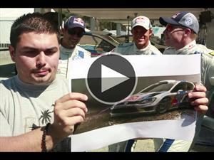 Video: Impresionante desafío para los pilotos de Volkswagen Motorsport