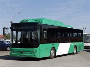 Yutong lanza un bus eléctrico que operará en Chile