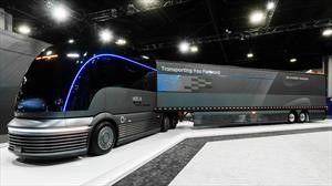Hyundai HDC-6 Neptune Concept, tractomula eléctrica alimentada por hidrógeno