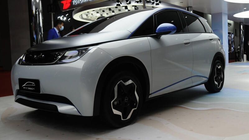 Shanghai 2021: los eléctricos de BYD apuestan por la autonomía