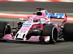 Force India VJM11es el monoplaza de Checo Pérez para 2018