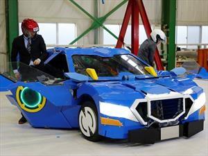 J-deite RIDE, el transformer japones que pasa de auto a robot en 60 segundos