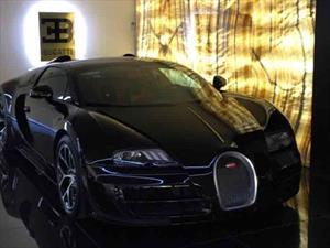 Cristiano Ronaldo agrega un Bugatti Veyron Grand Sport a su colección de autos