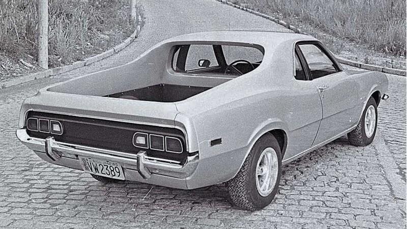 Ford Maverick pickup ya fue creada en los 70s en el país que menos pensabas