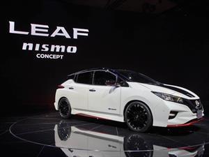 Tokio 2017: el Leaf se pone zapatillas con el NISMO Concept