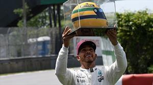¡Tremendo elogio!: un expiloto de F1 comparó a Hamilton con Senna