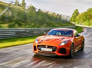 Ahora puedes subir de copiloto en el Jaguar F-Type SVR en Nürburgring