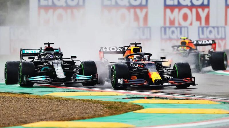 F1 GP de Imola 2021: Max Verstappen gana, pero Hamilton sigue primero