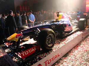Lubricantes TOTAL nos deslumbró con un Fórmula 1