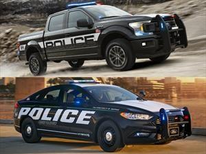 Ford Police Responder Hybrid Sedan 2019 y F-150 Police Responder 2018, dos patrullas especiales