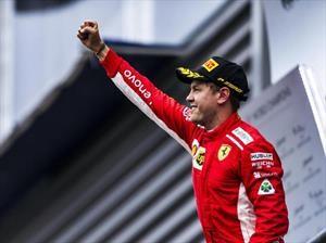 Vettel gana el GP de Bélgica 2018