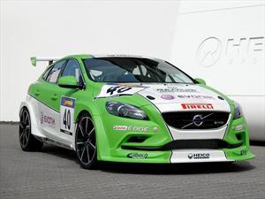 Volvo V40 racer estrena motor turbo diesel