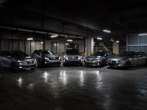 Nissan presenta en México versiones especiales Midnight Edition para 5 de sus modelos