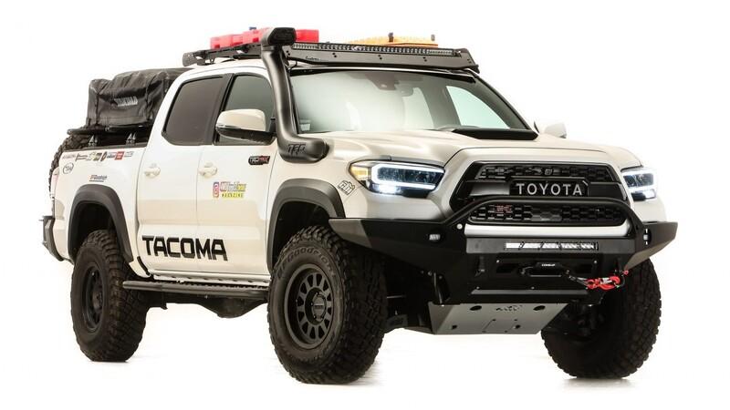 Toyota Tacoma Overland-Ready es una pickup con grandes capacidades off-road y de almacenamiento
