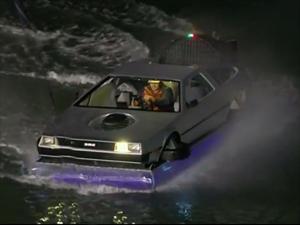 Un DeLorean de Volver al Futuro que vuela de verdad