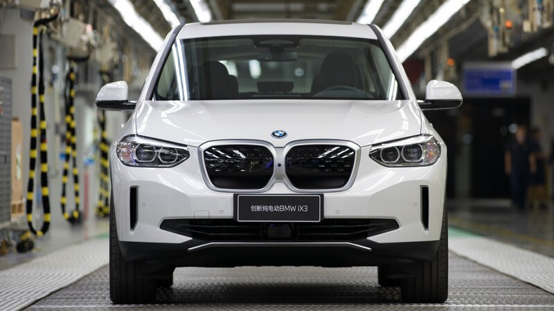 En China ya arrancó la producción del BMW iX3