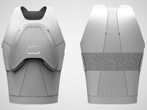 Invencible: McLaren fabricó un chaleco a prueba de todo