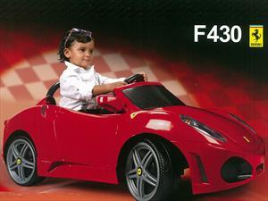 Conocé el mini Ferrari F430