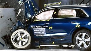 Audi E-tron recibe reconocimiento de la IIHS por la seguridad que ofrece a sus pasajeros