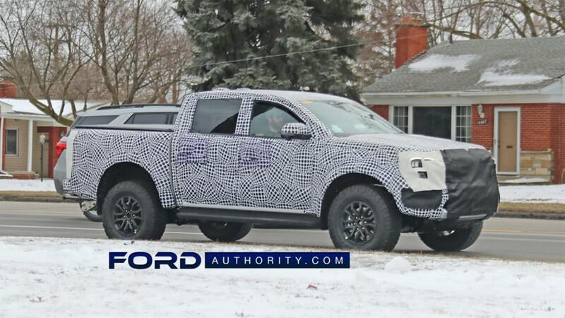 Ford Ranger se alista como híbrida enchufable