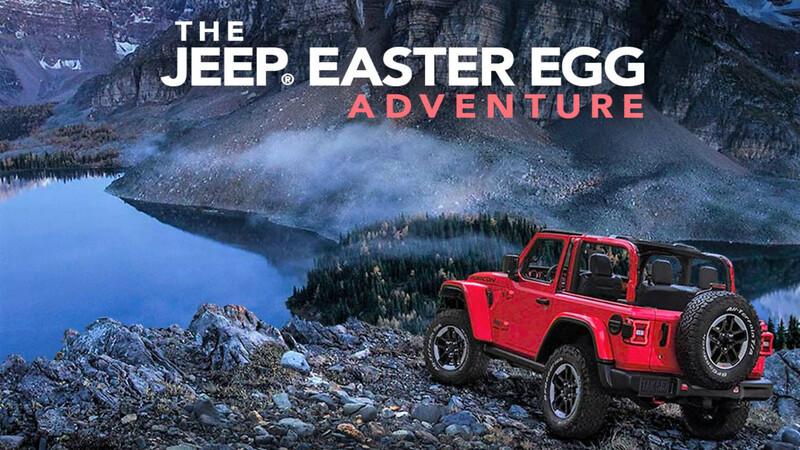 Tu puedes ser el próximo en crear el nuevo 'Easter Egg' de Jeep