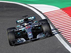 Hamilton se pone nuevamente a la delantera en el GP de Japón 2018