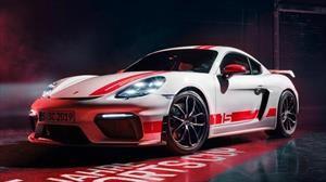 Porsche 718 Cayman GT4 Sports Cup Edition, un homenaje a los modelos de carreras de la marca