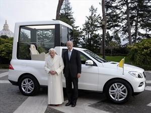 Mercedes-Benz Clase M es el nuevo Papamóvil de Benedicto XVI