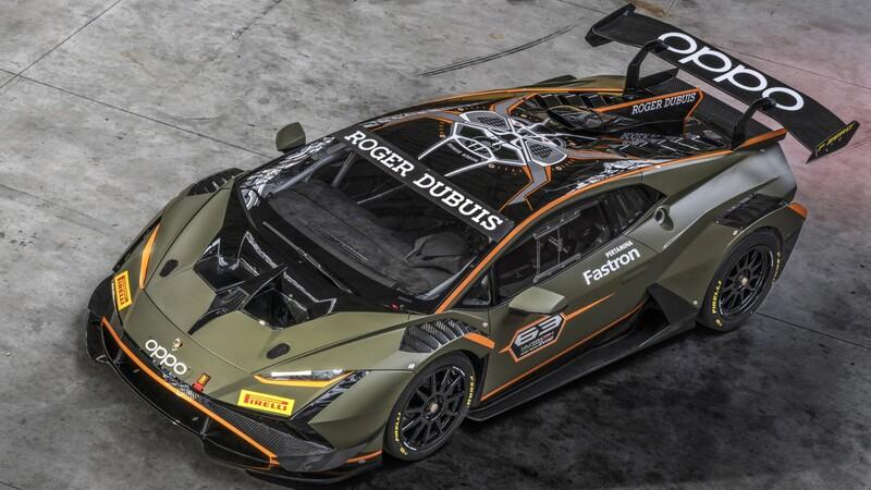 Lamborghini Huracán Super Trofeo EVO2, por si se necesitaba un auto más extremo