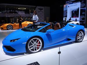 Lamborghini Huracán Spyder LP 610-4 debuta