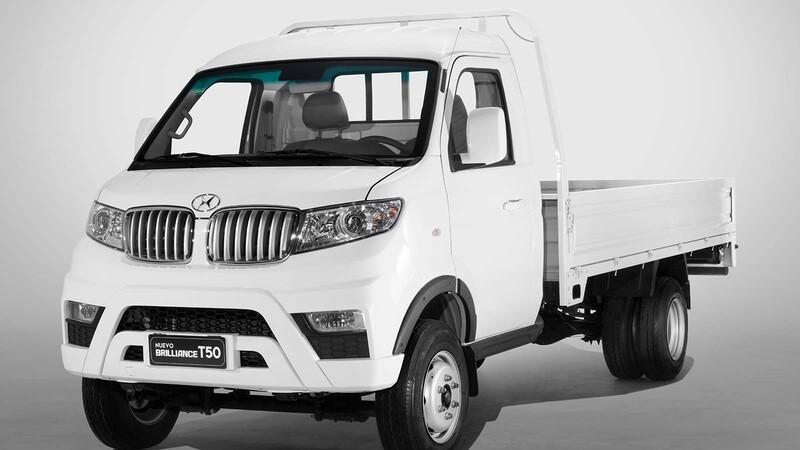 Línea T de Brilliance: mini trucks al ataque