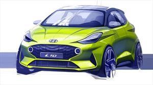 Hyundai anticipa el boceto del i10 2020 europeo de cara a Frankfurt