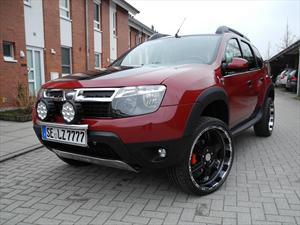 Dacia Duster es modificado por LZParts
