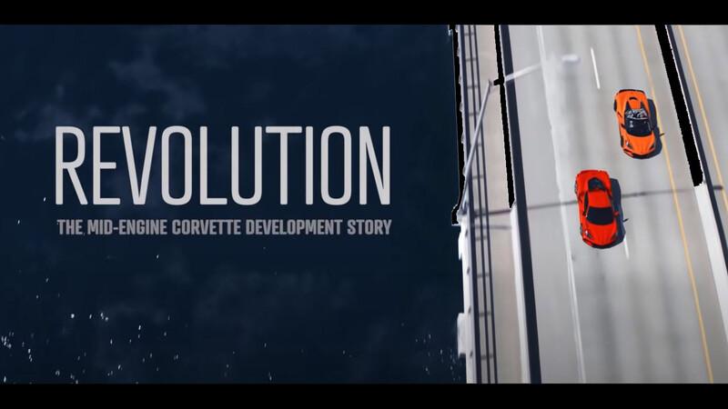 Chevrolet libera la primera parte de su mini documental sobre el desarrollo del Corvette C8